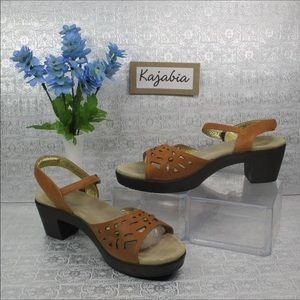 ALEGRIA Reese Tan Sandals Size 41